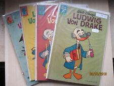Walt Disney Ludwig von Drake 1-4 COMPLET-US 15 c