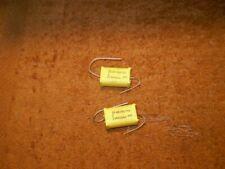 ".68uf / 680nf ""chicklet"" film capacitors (2pcs)"