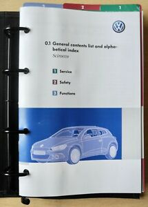 VW SCIROCCO MK3 OWNERS MANUAL HANDBOOK RNS 510 NAVI FOR 2008-2014 CARS REF1854