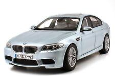1:18 BMW M5 2012 F10 silverstone II argent - Dealer-Edition - OEM - Paragon