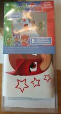 PJ Masks Wall Decals (8) Removable and Repositionable Set Glow in the Dark NIB
