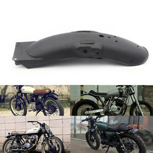 1x Universal Motorcycle Rear Fender Mud Guard Protector Cover Metal Accessories