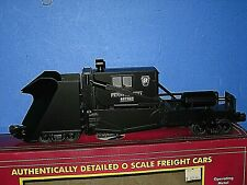 MTH: Pennsylvania RR- Jordan Spreader. Lighted. New in worn box. C-9/ob s/b