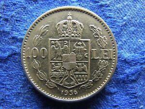 ROMANIA 100 LEI 1936, KM54