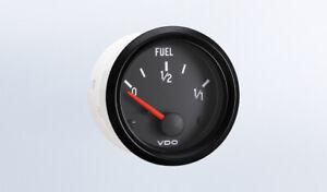 "VDO gauge Fuel level genuine Cockpit 301-015, 2""/52mm, spin-loc, w/wire harness"