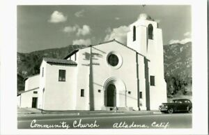 RPPC COMUMUNITY CHURCH  ALTADENA  CALF.