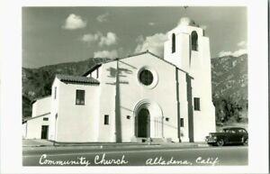 RPPC COMUMUNITY CHURCH  ALTADENA  CALF.
