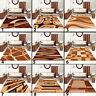 Kurzflor Designer Teppich in Braun Modern Rechteckig Teppich Wohnzimmer Neuheit