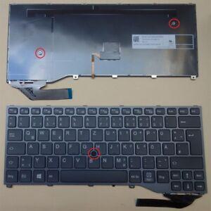 original Tastatur Fujitsu Siemens LifeBook P727 P728 U727 U728 Keyboard Deutsch
