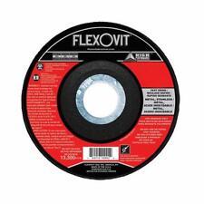 FlexOvit® A1236 High Performance Type 27 Grinding Wheel, 4-1/2 in Dia x 1/4 in T