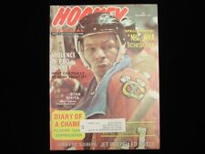 December 1975 Hockey Pictorial Magazine - Stan Mikita Cover