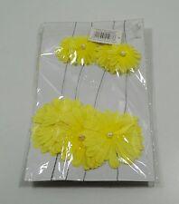 Eurotrend - Girlande - Blütengirlande - dekorieren - gelb - 1,4 m lang - NEU
