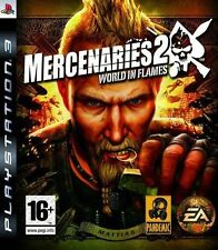 PS3 - Mercenaries 2 World in Flames **New & Sealed** Official UK Stock
