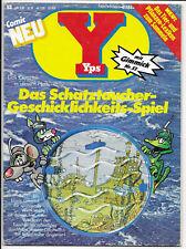 Yps Nr.53 von 1976 mit Bastelteil, Buddy Longway, Baron Münchhausen.... - Z1-2