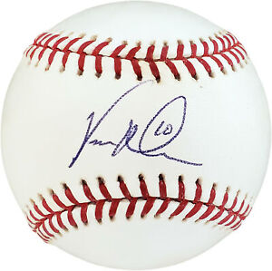 Vernon Wells Autographed Signed MLB Baseball Blue Jays, Yankees F27847