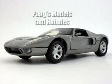 Ford GT Concept Coupe 1/24 Scale Diecast Metal Model - SILVER