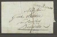 1815 Lettre ML 66 MONTBELIARD HAUT-RHIN(66). TB. Indice 15. X1595