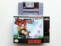 Chrono Trigger Crimson Echoes RPG Case / Game SNES Super Nintendo (USA Seller)