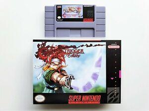 Chrono Trigger Crimson Echoes RPG Case / Game SNES Super Nintendo (USA Seller)