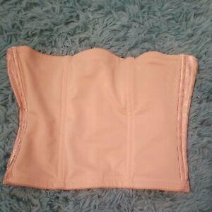 Women's Waist Trainer Corset Shaper Cupid 5167 Size M Beige Boned Shapewear