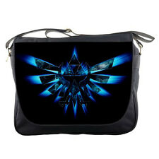 "Legend Of Zelda TriForce Logo Messenger Bag 14"" Shoulder Notebook Laptops School"