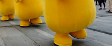 Pikachu Mascot Costume Cosplay party Adult Suit replacement BOOTS Only