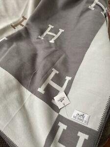 cashmere large h blanket