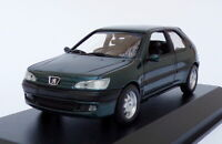 Maxichamps 1/43 Scale 940 112801 - 1998 Peugeot 306 - Metallic Green