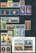GUERNSEY 69-212 SG72-220 MNH 1972-80 Commemoratives 10 sets,1 MS Cat$10