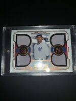 2015 Topps Museum Collection CC SABATHIA  Quad Relic Jersey # 67/75 Yankees