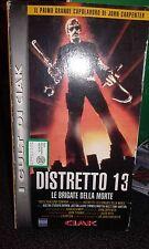 DISTRETTO 13 le brigate della morte  ( EDIZIONE CIAK )    VHS