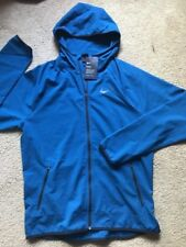 Nike Men's Flex Hooded Training Jacket Small Neptune Blue MSRP $75