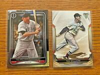 TED WILLIAMS 2020 Topps Tribute #53 & 2019 Topps Triple Threads #46 Red Sox