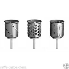 EMVSC Accessori KitchenAid 3 Cilindri OPZIONALI x grattugia Robot Cucina Artisan