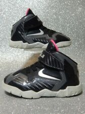Nike Shoes - 2013 Kids Lebron 12 Xii Miami Nights - Silver Pink Black - Size 5C