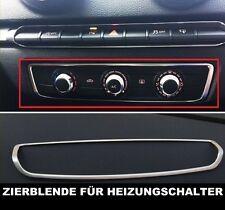D AUDI a3 8 L Chrome Cadre Pour Interrupteur-Acier inoxydable poli