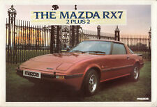 MAZDA RX7 2PLUS2 BROCHURE, DATED JANUARY 1982. .