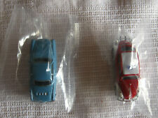 2 Modellautos Feuerwehr PKW neu Spur HO OVP