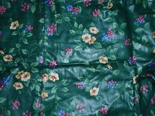 "Longaberger Liner, Emerald Vine Fabric, Fits The 7"" Generations, Basket New!"