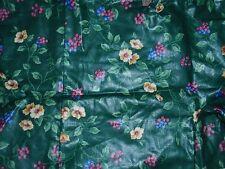 """Longaberger Liner, EMERALD VINE Fabric, Fits """"ODDS & ENDS/STEP IT UP"""" Basket NEW"""