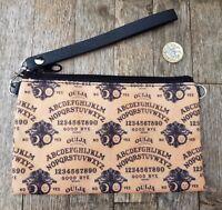 Vintage Ouija Board Purse - Horror Goth Halloween Clutch Bag