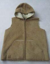 Ralph Lauren Equestrian Supply Co. Tan Hooded Vest Medium