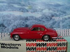 1/43 Western models  (England) Alfa Romeo villa d'este coupe 1950 white metal