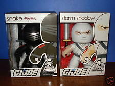 G.I. JOE  MIGHTY MUGGS  Snake Eyes & Storm Shadow fig.