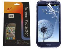 Samsung Galaxy S3 i9300 Display Schutzfolie Screen Protector mit Reinigungstuch