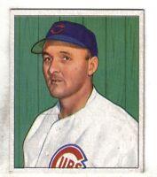 """1950 Bowman Baseball Card #170 Emil """"Dutch"""" Leonard Chicago Cubs EX+"""