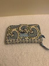 Longaberger Sisters Quilted Wallet - Earth & Sky (blue, white) - New