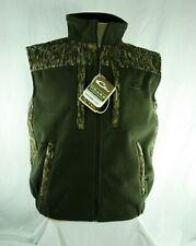 Drake Mid Season Windproof Fleece Vest Men's Size S DW1600-006T-1 Mossy Oak Camo