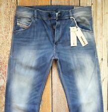 $218 NEW DIESEL Jeans KRAYVER W29xL32 Regular Slim Carrot 100% Cotton