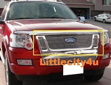 For 2007~2010 Ford Explorer Sport Trac Billet Grille 3pc upper Inserts